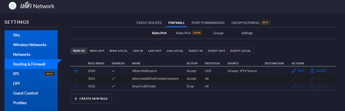 How to set up IPTV Multicast from Telenor fibre on USG 3P